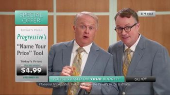 Progressive Name Your Price Tool TV Spot, 'Another Shopping Club'