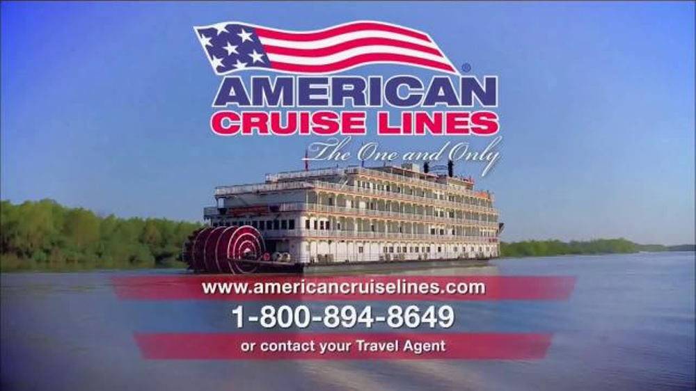 American Cruise Lines TV Commercial, 'The One and Only'