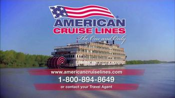 American Cruise Lines TV Spot, 'The One and Only'