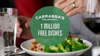 Carrabba's Italian Grill TV Spot, '1 Million Free Dishes' - Thumbnail 4