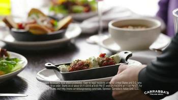 Carrabba's Italian Grill TV Spot, '1 Million Free Dishes' - Thumbnail 7