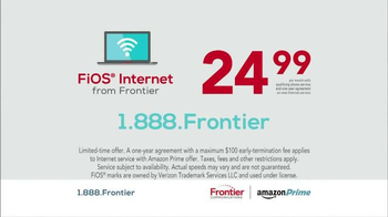 Frontier Communications FiOS Internet TV Spot, 'What You Want' - Thumbnail 9