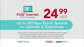 Frontier Communications FiOS Internet TV Spot, 'What You Want' - Thumbnail 6