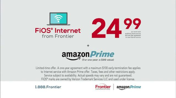 Frontier Communications FiOS Internet TV Spot, 'What You Want' - Thumbnail 7