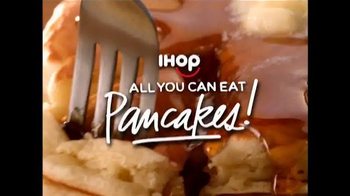 IHOP All You Can Eat Pancakes TV Spot, 'It's Back!' - 3162 commercial airings