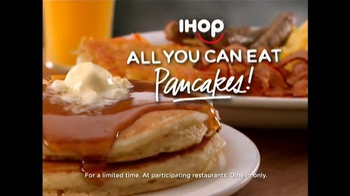 IHOP All You Can Eat Pancakes TV Spot, 'It's Back!' - Thumbnail 9