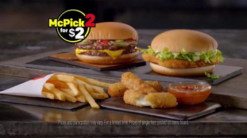 McDonald's McPick 2 TV Spot, 'Melty Mozzarella' - Thumbnail 6