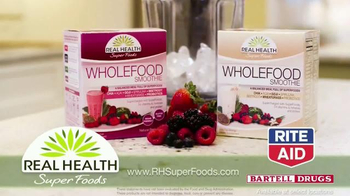 Real Health Superfoods WholeFood Smoothies TV Spot, 'Tastes Great' - Thumbnail 8