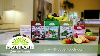 Real Health Superfoods WholeFood Smoothies TV Spot, 'Tastes Great' - Thumbnail 3