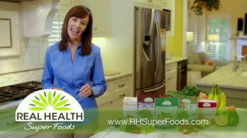 Real Health Superfoods WholeFood Smoothies TV Spot, 'Tastes Great' - Thumbnail 4