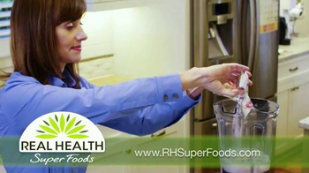 Real Health Superfoods WholeFood Smoothies TV Spot, 'Tastes Great' - Thumbnail 5