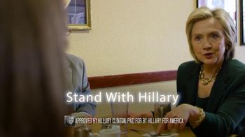 Hillary for America TV Spot, 'Incredible' - 6 commercial airings
