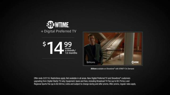 XFINITY Digital Preferred TV Spot, 'Showtime: Billions & Shameless' - Thumbnail 8