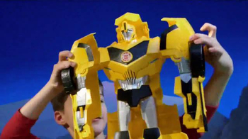 Transformers Robots in Disguise Super Bumblebee TV Spot, 'Biggest Ever!' - Thumbnail 4