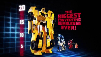 Transformers Robots in Disguise Super Bumblebee TV Spot, 'Biggest Ever!'