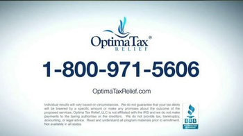 Optima Tax Relief TV Spot, 'The Big Bad IRS' Featuring Alan Thicke - Thumbnail 8