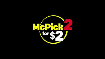 McDonald's McPick 2 TV Spot, 'Mix & Match' - 1656 commercial airings