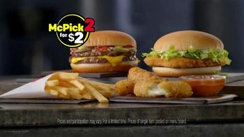 McDonald's McPick 2 TV Spot, 'Mix & Match' - Thumbnail 4