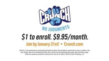 Crunch Gym TV Spot, 'Sounds Like Fun'