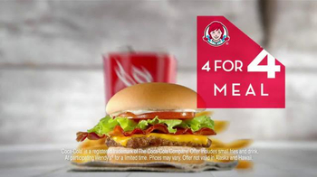 Wendy's 4 for $4 Meal TV Spot, 'Twitter Feed' - Thumbnail 6