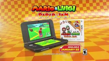 Mario & Luigi Paper Jam TV Spot, 'Giant Paper Battles' - Thumbnail 9