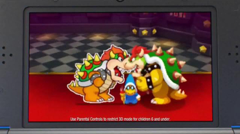 Mario & Luigi Paper Jam TV Spot, 'Giant Paper Battles' - Thumbnail 2
