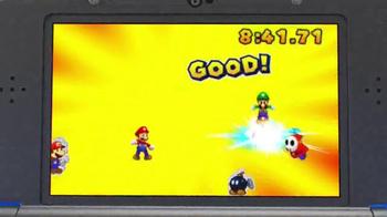 Mario & Luigi Paper Jam TV Spot, 'Giant Paper Battles' - Thumbnail 5