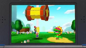 Mario & Luigi Paper Jam TV Spot, 'Giant Paper Battles' - 1186 commercial airings