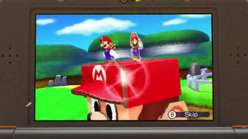 Mario & Luigi Paper Jam TV Spot, 'Giant Paper Battles' - Thumbnail 7
