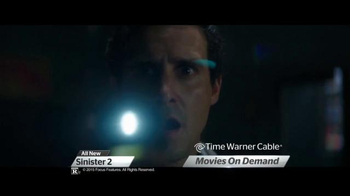Time Warner Cable On Demand TV Spot, 'Sinister 2 and The Visit' - Thumbnail 3