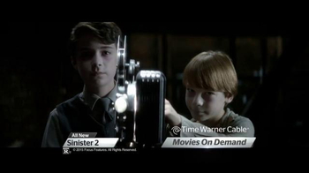 Time Warner Cable On Demand TV Spot, 'Sinister 2 and The Visit' - Thumbnail 4