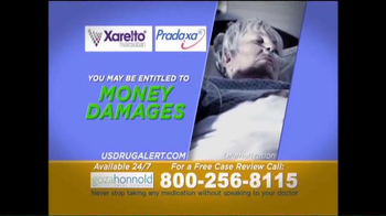 Goza Honnold Trial Lawyers TV Spot, 'Xarelto & Pradaxa' - Thumbnail 2