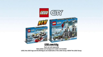 LEGO City Prison Island and Police Patrol Boat TV Spot, 'Master Crooks' - Thumbnail 10