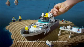LEGO City Prison Island and Police Patrol Boat TV Spot, 'Master Crooks' - Thumbnail 6