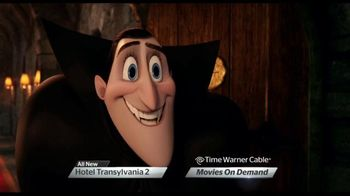 Time Warner Cable On Demand TV Spot, Hotel Transylvania 2