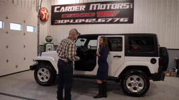 Carder Motors TV Spot, 'Entire Inventory'