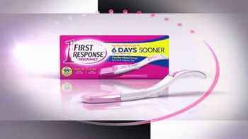 First Response Early Result Pregnancy Test TV Spot, 'Comfort Sure Design' - Thumbnail 3