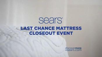 Sears Last Chance Mattress Closeout Event TV Spot, 'Award Card' - Thumbnail 5