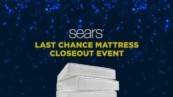Sears Last Chance Mattress Closeout Event TV Spot, 'Award Card' - Thumbnail 1