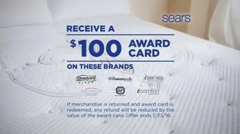 Sears Last Chance Mattress Closeout Event TV Spot, 'Award Card' - Thumbnail 3