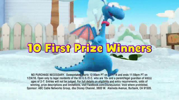 Doc McStuffins So Much You Can Do Sweepstakes TV Spot, 'Stay Healthy' - Thumbnail 7