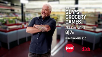 Dish Network TV Spot, 'Food Network: Guy's Grocery Games' - Thumbnail 6