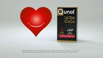 Qunol Ultra CoQ10 TV Spot, 'Heart Healthy Nutrient'