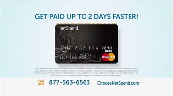 NetSpend Card TV Spot, 'Every Minute Counts' - Thumbnail 3