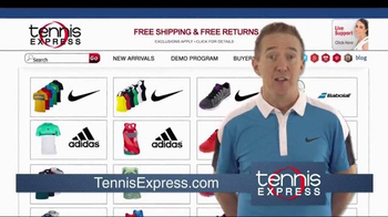 Tennis Express TV Spot, 'Brad' - Thumbnail 1