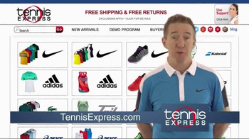 Tennis Express TV Spot, 'Brad' - Thumbnail 2