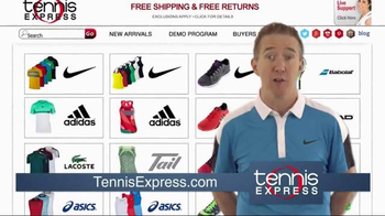 Tennis Express TV Spot, 'Brad'
