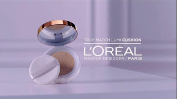 L'Oreal Paris True Match Lumi Cushion TV Spot, 'Tap Tap' Ft. Karlie Kloss - Thumbnail 3