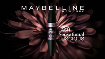 Maybelline New York Lash Sensational Luscious TV Spot, 'Abanico' [Spanish] - Thumbnail 3