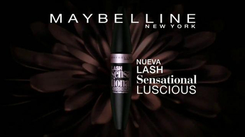 Maybelline New York Lash Sensational Luscious TV Spot, 'Abanico' [Spanish] - Thumbnail 9